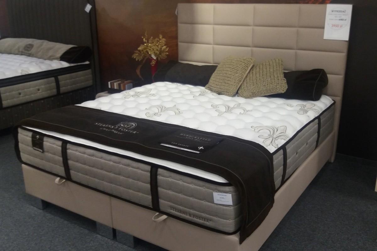 Aktualne Trendy - łóżko kontynentalne 180x200 z pojemnikiem na pościel PT38