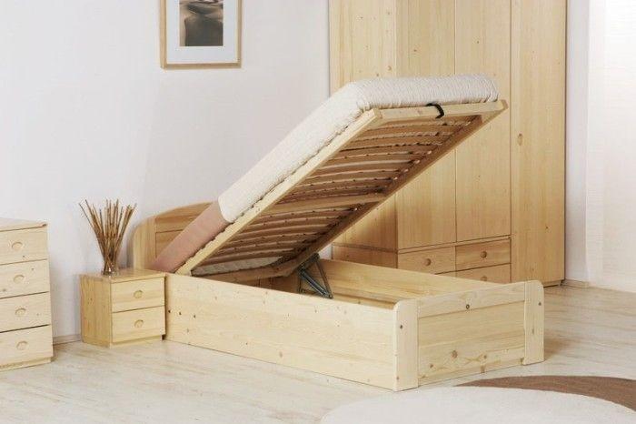 łóżko Mark 4 Ze Stelażem I Pojemnikiem Na Pościel