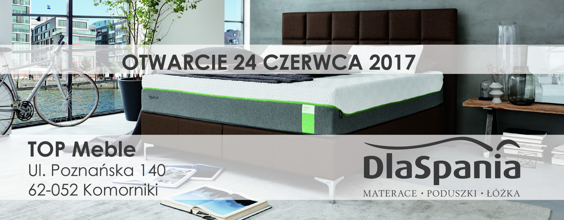 Otwarcie nowego salonu w Komornikach pod Poznaniem.