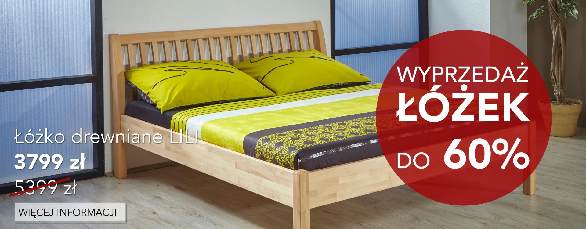 Wyprzedaż kolekcji łóżek 2017 z rabatami do -60%