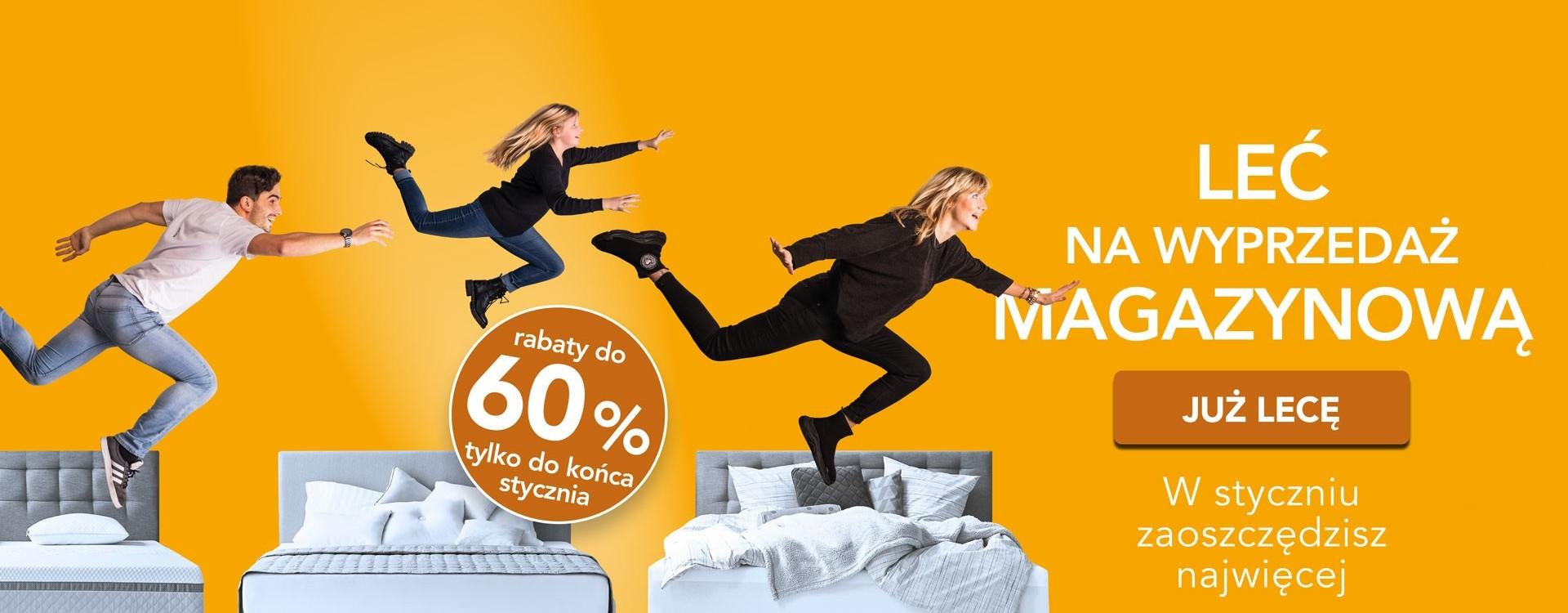 Styczniowe ceny materaców, łóżek i poduszek