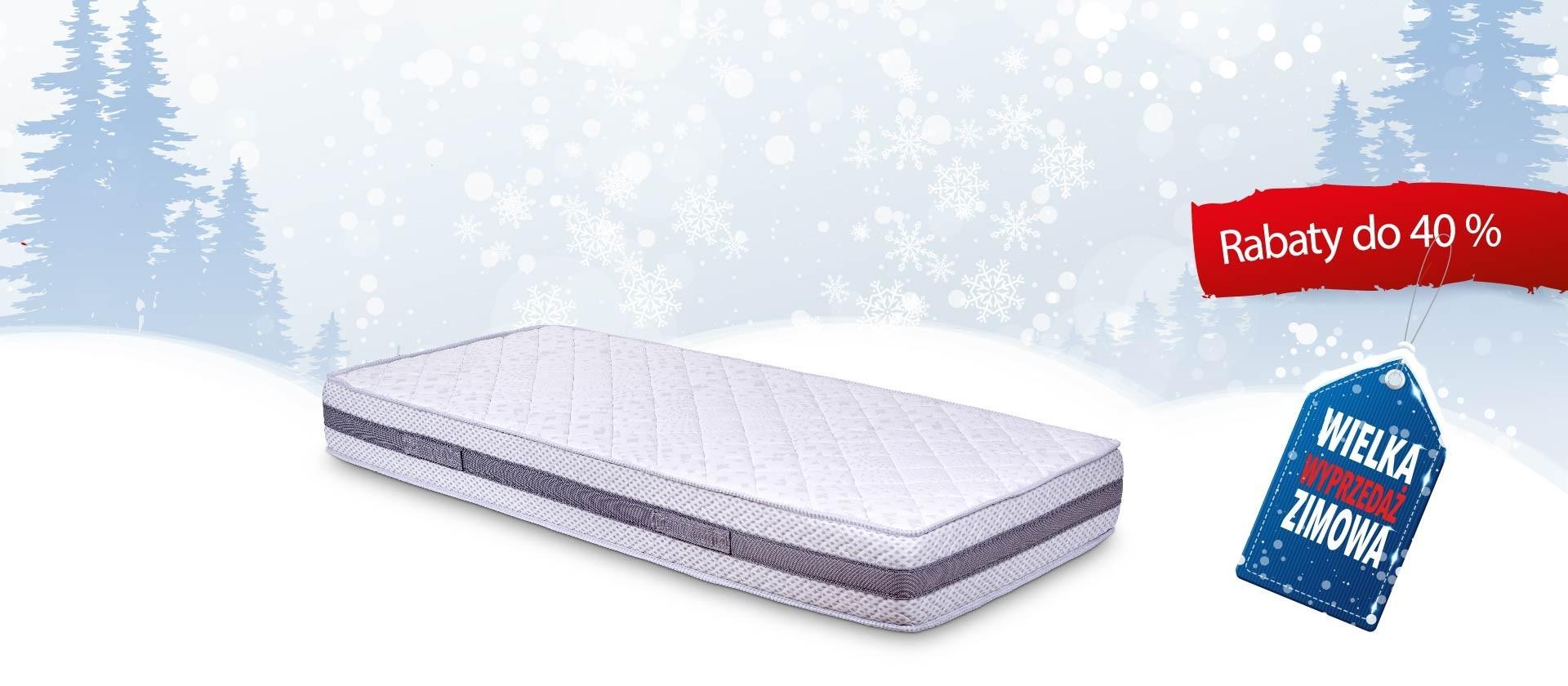 Materac Confort Grey