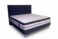 Łóżko kontynentalne Charles z materacem Cashmere Queen