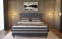 COLUMBUS - Nowoczesne łóżko odpowiednie do wyższych materacy