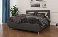 BOSTON - Eleganckie łóżko tapicerowane