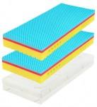 TAU HARD II 20 cm (Wellness) 1+1 - materac z pianki z efektem pamięciowym