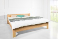 Lana - elegancka prostota w wyjątkowym łóżku drewnianym
