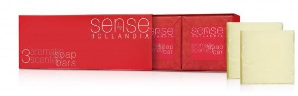Zestaw 3 aromatycznych mydeł SENSE