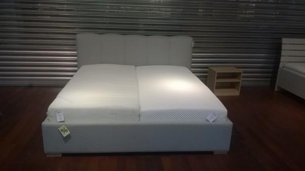 Łóżko Melodia 180x200 z pojemnikiem tkanina Hill 2