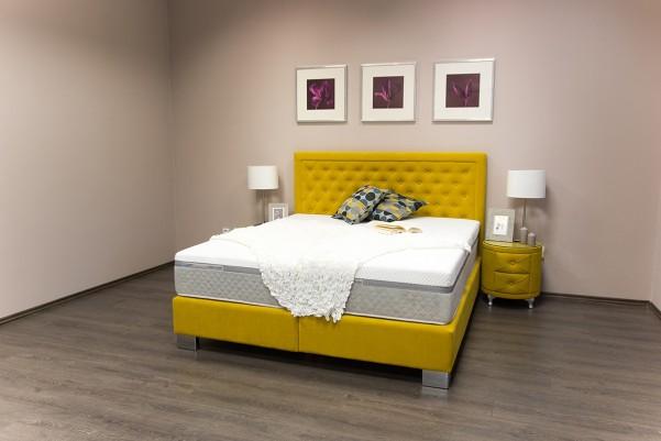Glory - łóżko tapicerowane