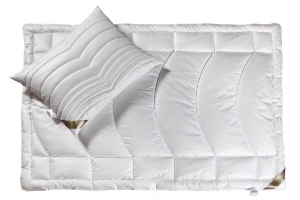 Klinmam Outlast - kołdra całoroczna - Zestaw utrzymujący optymalną temperaturę w łóżku