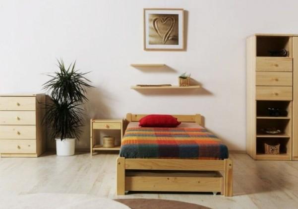 Łóżko VIKEND ze stelażem