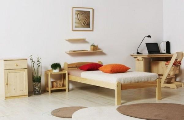 Łóżko TORO hobby ze stelażem