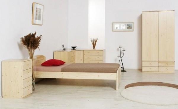 Łóżko MARK 4 ze stelażem