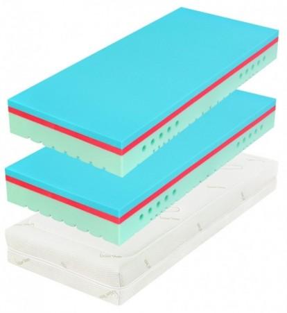 TAU SOFT II 25 cm (Classic) 1+1 - materac z pianki z efektem pamięciowym