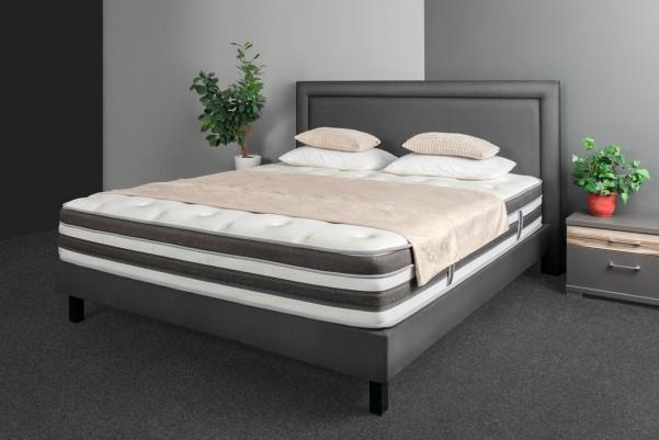 Łóżko Memphis Boxpring - akcja przy zakupie materaca Tempur