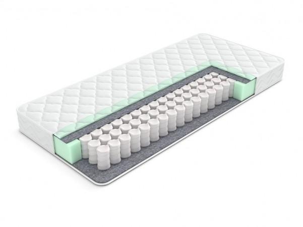 ENZIO DENVER - przewiewny materac sprężynowy odpowiedni do łóżek typu boxspring i klasycznych