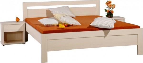 Łóżko Karlo bez stelaża i materaca.