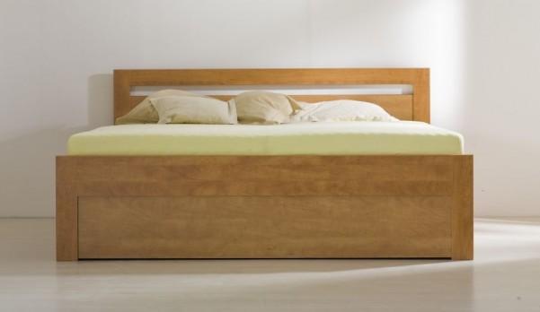 Łóżko Marika ze stelażami i pojemnikiem na pościel