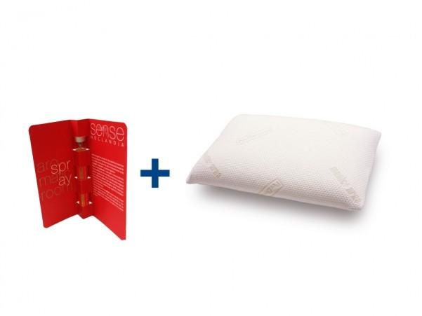 Poduszka PERDORMIRE MOORE + Turystyczny Spray Sense do poduszek 10 ml