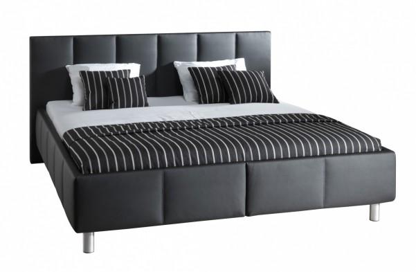 Rimini - tapicerowane łóżko (eko skóra)