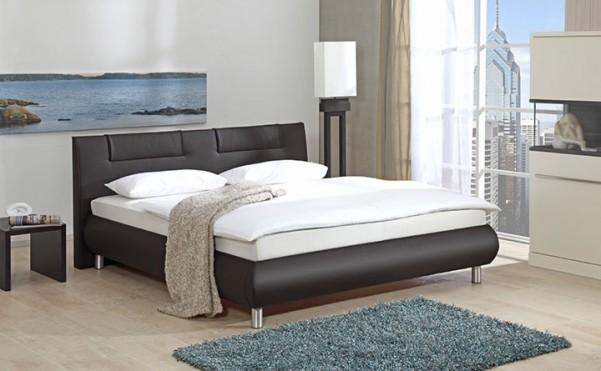 Bellino - tapicerowane łóżko (eko skóra)