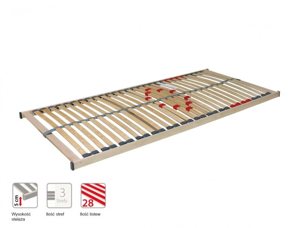Primaflex - podstawowy, stały stelaż do łóżka